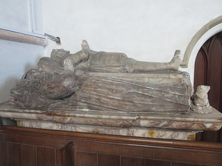 St Margaret's Church, Lewknor, Oxfordshire: tomb
