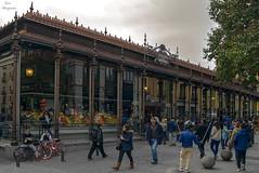 Mercado de San Miguel... (Leo ) Tags: madrid calle arquitectura gente urbana escena mercadodesanmiguel