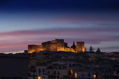 Zuiko 45mm (gius_mar2014) Tags: basilicata tramonti monumenti notturne medioevo normanno castellonormannosvevo melfipz ilcastellodimelfi tramontosumelfipz