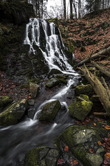 Go With The Flow (Tim Camin) Tags: wood nature water forest landscape waterfall nikon wasser long exposure wasserfall stones natur steine landschaft wald bume rennsteig d7100