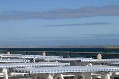Tables With A View (SueZinVT) Tags: sky white water provincetown cape cod picnictables canon70d suezamecnik
