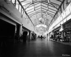 pinhole4x5_2016-04-25-0003+ (Jari Savijrvi) Tags: pinhole shoppingmall seinjoki kauppakeskus glasssteel torikeskus diy4x5pinhole linesandwindows