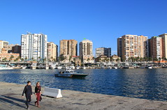 Malaga, Spain (Kristel Van Loock) Tags: city travel haven port puerto spain espanha europa europe cityscape andalucia espana porto andalusia andalusien espagne malaga viaggio spanien spagna spanje andalousie espagna spagne citytrip andaluzia andalusi zuidspanje puertodemalaga visitmalaga march2016 beleefmalaga