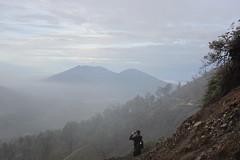 Back to Ijen basecamp (Huub Pics) Tags: travel mountain indonesia java amazing view hiking wanderlust explore backpacking gunung jawa indonesi vulcano ijen kawahijen