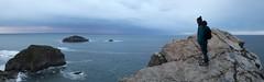 Capes (ramosblancor) Tags: travel sea panorama paisajes costa naturaleza nature coast landscapes mar asturias cliffs capes humans cabopeas viajar humanos acantilados