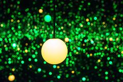 Colorful life (nesnetsirhc) Tags: light green art colors yellow museum modern night copenhagen denmark happy louisiana exhibition dots