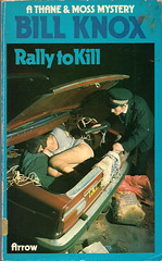 Rally to Kill (54mge) Tags: stockings car boot torch corpse deadbody policeman tornstockings