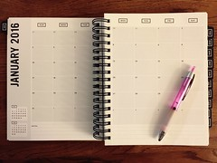 Hello, January! Time to #GetToWorkbook  (DreamsOfNyssa) Tags: notebook planner 2016 datebook gettoworkbook