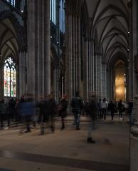 Kirchgang (lars_uhlig) Tags: people church germany deutschland cathedral dom kirche cologne köln rheinland gotik kölner 2015