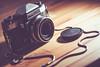 "1/366 - Meine neue ""Alte"" (Tekke) Tags: detail berlin film analog nikon cam praktica tabletop kamera d800 objekte 366 1366 100mm28makro prakticasuptertl"