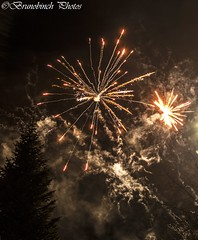 Fireworks (Brunobinch) Tags: new red sky black night wonderful suomi finland dark grey colorful europe fireworks smoke year finnish spark beatiful 2016 hmeenlinna tavastehus patterning kantahme brunobinch