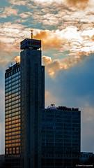 Golden hour cityscape (Paweł Szczepański) Tags: katowice śląskie poland pl sonyflickraward shockofthenew
