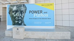 Museum, Power and Pathos, J. Paul Getty Museum, Mural