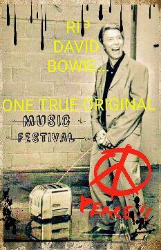 #DavidBowie #MusicFestival #Memorial #ZiggyStardust #starman #BoyGeorge #stoned #420nation #420 #underground  #dance#green #Bowie