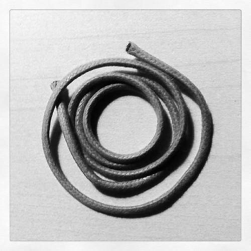 Piece of cord #cord #cuerda #bnw #blackandwhite #blancoynegro