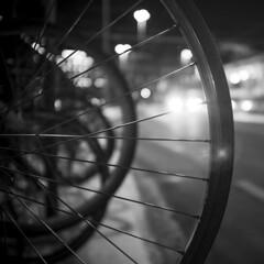 Circles (akarakoc) Tags: light white black wheel night fuji bokeh circles lensflare flare fujifilm zrich x100t
