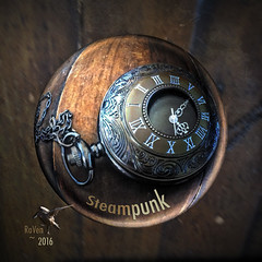 Steampunk Pocket Watch -iPhone (thePhotographerRaVen) Tags: arizona tucson fisheye fantasy pocketwatch iphone steampubk arizonasteampunk tucsonsteampunk