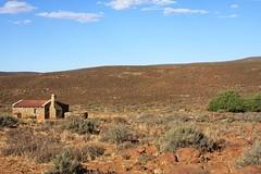 Our litlte bit of Karoo paradise for the evening! (Vaughanoblapski!) Tags: stone cottage sutherland karoo