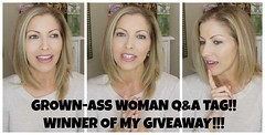 Grown-Ass Woman Q&A Tag + Giveaway WINNER! (jeniferjbeauty) Tags: woman beauty skin tag giveaway winner qa care workout fitness wrinkles routines grownass