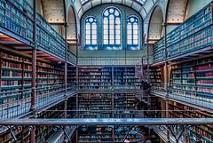 Library in the Rijksmuseum (a3aanw) Tags: amsterdam nikon library books bibliotheek rijksmuseum boeken d800 2470mm