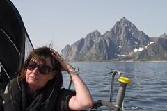 Summer sailing in Lofoten (Svein K. Bertheussen) Tags: sea sailing cruising lofoten kabelvåg hav svolvær seiling vestfjorden austvågøy vågakallen lofotkatedralen vågankirke austvågisland vaaganchurch cruisinginlofoten