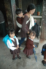 kids (Monterey Indo-Pac Photography) Tags: school india portraits children uniforms kohima nagaland