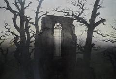 Friedrich, Abbey among Oak Trees