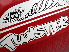 twister (Ian Muttoo) Tags: ontario canada plymouth gimp duster decal twister mississauga decals plymouthdustertwister dustertwister 20160130143449edit