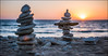 ile de ré (Paucal) Tags: leica sunset sea sun de soleil sand bokeh ile summilux50 ré m9 rockpiles