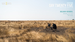 Day Twenty Five (catchsid) Tags: travel india field bicycle airport cyclist sony goa maharashtra biketouring mirrorless a7s