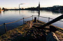 Pori anchor (Storm'sEndPhoto) Tags: autumn fall suomi finland river sunny days syksy aurinko pori sunshin joki kokemenjoki satakunta visitfinland visitpori auinkopaistaa