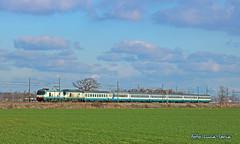 E402 037 e 012 con IC594 (equo25) Tags: treno ferrovia locomotiva