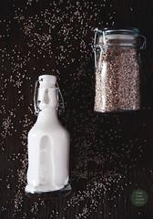 Homemade sesame seed milk (foodpornveganstyle) Tags: food milk vegan drink sesame seeds vegetarian veganfood foodphotography mleko foodstyling sezam veganmilk plantmilk foodpornveganstyle wegaskie mlekorolinne