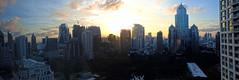 Waking Up To This (Coquine!) Tags: morning modern skyscraper sunrise thailand asia asien southeastasia bangkok sonnenaufgang hochhaus wolkenkratzer highriser musehotel christianleyk