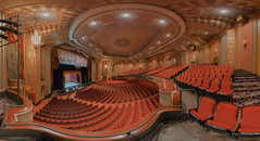 Warner Theatre, Erie, PA (Christian Dionne) Tags: panorama usa building nikon theater theatre pennsylvania warner erie nikkor hdr d800 nodalninja 1424mm