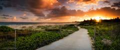 Sans Souci Sunset (Gerard Blacklock) Tags: sunset panorama sans souci gerardblacklockgerry