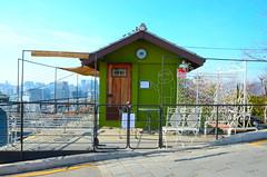 Green (jnwshoots) Tags: city urban color girl nikon who korea korean seoul drama sees smells the kdrama  ihwa