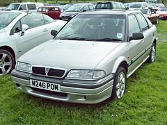 225 Rover 214SEi (R8) (1995) (robertknight16) Tags: honda rover concerto civic british 1990s bmc r8 catton bl worldcars m246pom