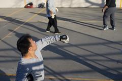 Return (dtanist) Tags: new york city nyc newyorkcity playing newyork zeiss island seaside sony player contax gloves return carl boardwalk courts coney handball a7 45mm serve planar carlzeiss