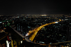 Bangkok view (diggertomsen) Tags: leica travel sky tower bar thailand hotel bangkok skybar statetower travelphotography lebua leicaq typ116
