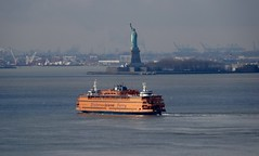 Statue of Liberty & ferry