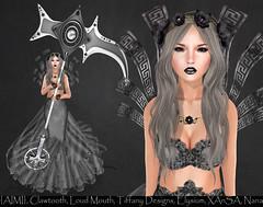 LOTD# 747 (Annika Neiro - Just addicted to fashion Blog) Tags: nana elysium loudmouth xansa clawtooth tiffanydesigns {aimi} fantasygacha suicidedollz