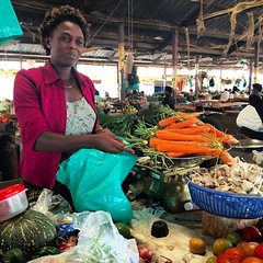 Fresh produce in #Kabale #Uganda #vegetables #fruit #nutrition  #Africa #dinner #diningtable