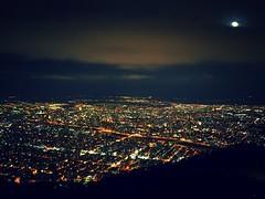 P1240611 (mina_371001) Tags: sky moon japan night sapporo hokkaido nightview mtmoiwa photographywork olympusomdem10