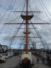 Day 266: HMS Warrior (alanaplin) Tags: hmswarrior