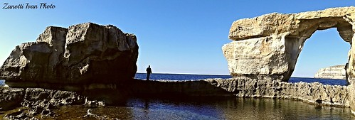 Azure Window  .Gozo Island
