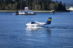 Float planes (Zorro1968) Tags: travel canada vancouver airplane britishcolumbia aircraft transportation otter airtravel floatplane vancouverharbour