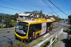 Brooklyn - Millis Road (andrewsurgenor) Tags: city newzealand urban bus buses yellow electric busse transport transit nz wellington publictransport streetscenes omnibus trolleybus obus trolleybuses citytransport trackless nzbus gowellington