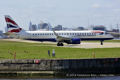 British Airways ERJ190 ~ G-LCYJ ( Freddie) Tags: london ba britishairways londoncityairport embraer newham e16 erj190 lcy royaldocks eglc runway27