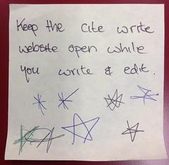 Use Cite|Write (thompsoe) Tags: payitforward uniadvice advicefromstudents